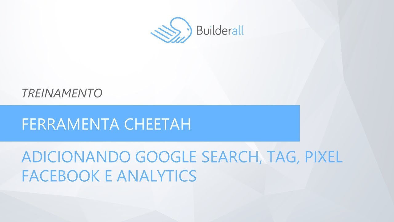 Adicionando google search, tag, pixel facebook e analytics