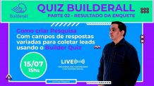 Como Criar Pesquisa com respostas variadas, usando o Quiz da Builderall  e coletar Leads