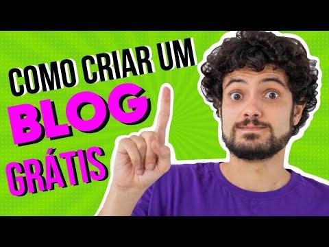 🠚 Como Criar Um Blog Grátis 🠘 (2021)