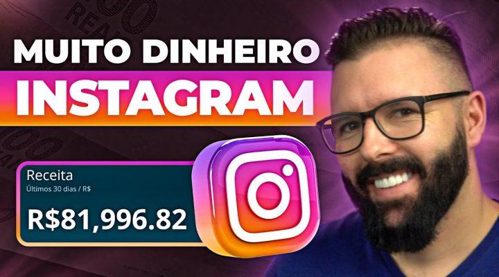 Como Ganhar Dinheiro no Instagram (varias fontes de renda, mesmo sem aparecer, rápido e simples)