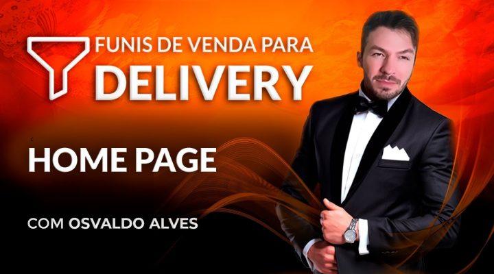 Como editar a Home Page – Funil Delivery